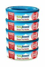 Baby Breeze Diaper Pail Refill Bags Playtex protection diaper odors 1400 Count