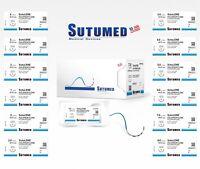 Sutumed Sutu-Lene Polypropylene  Suture USP 5-0, 1/2 16mm reverse cutting