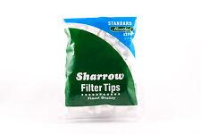 10 Sharrow Filter Tips Standard Menthol 10 Packets x 200 Filter Tips - New