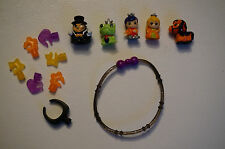 HALLOWEEN Toy Squinkies Figures Ghost Princess Set Lot Prince Frog Horse Monster