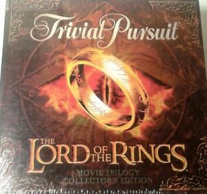 Lord Of The Rings Edition Trivial Pursuit Board Game 2003 Replacement Parts LOTR