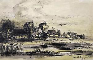 """Vegesack, Rupprecht von (1917 Dorpat-1976 Maasholm) """"Bei Lüneburg"""" Niedersachsen"""