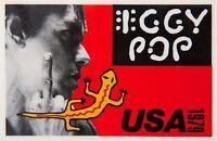 IGGY POP 1979 NEW VALUES TOUR ORIGINAL VINTAGE CONCERT POSTER / EX 2 NEAR MINT