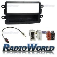 Dacia Duster Single Din Car Stereo Radio Fitting Kit Fascia ISO Aerial Adaptor