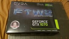 EVGA GEFORCE GTX 1070 FTW2 ICX GPU 8GB GAMING GRAPHICS VIDEO CARD 08G-P4-6676-KR