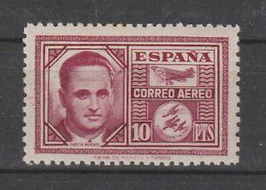 Spain 1945 10p Purple , Air MH SG 1064