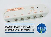 Vision Plus VP3 Digital Amplifier Caravan Television TV Aerial Signal Booster