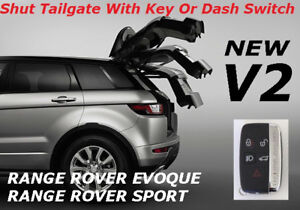 Range Rover Evoque Sport Tailgate Remote Auto Close Conversion Module VERSION 2