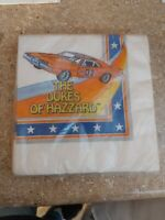 Dukes Of Hazzard Napkins Still In Package Dated 1981