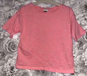 Girls Age 7-8 Years - River Island T Shirt Top