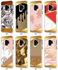 Crystals Rose Gold Mobile Phone Case Cover For Samsung Galaxy S20 A21 A40 S050