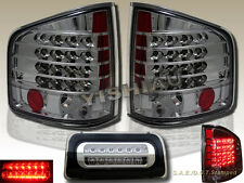 94-04 Chevy S10 GMC Sonoma Pickup Standard Cab LED Tail Lights & 3rd Brake Light