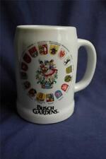 Busch Gardens Ceramic Beer Mug Stein Reutter Made in West Germany