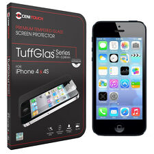 Cenitouch ® - Ultra Slim tempered-glass Protector De Pantalla Para Iphone 4s / 4