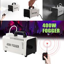 400W Fogger Nebelmaschine Fernbedienung Nebel Rauch Maschine Disco Show Party EU