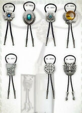 Western Krawatte Bolo Bolotie Keltisch Knoten oder Biker Kreuz handmade wählbar