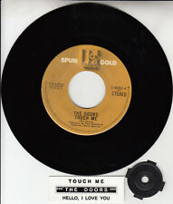"THE DOORS  Touch Me & Hello, I Love You 7"" 45 record NEW + juke box title strip"