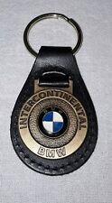 INTERCONTINENTAL BMW LEATHER KEY CHAIN FOB HOUSTON TEXAS