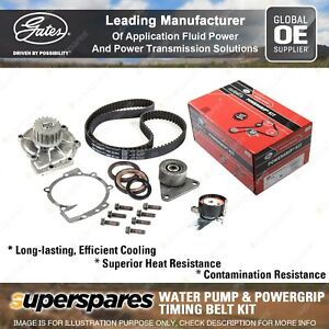 Gates Water Pump & Timing Belt Kit for Volvo C30 V50 C70 T5 2.4L AWD 2004-2012
