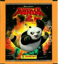 KUNG FU PANDA 2 STICKER COLLECTION FULL BOX OF 50 PACKETS 250 STICKERS BRAND NEW