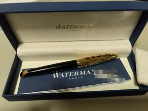 Waterman carene fountain pen Gold Plated FP