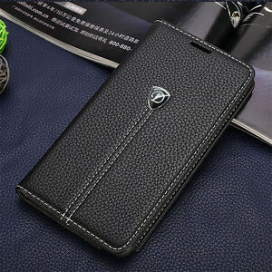 Premium Deluxe Quality Real Leather Magnet Case Wallet Cover Iphone 6/6s