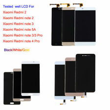 For Xiaomi Redmi 2/note 2 3 5A/3 4 Pro LCD Display Touch Screen Digitizer Black