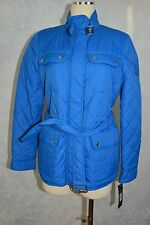 Ralph Lauren  size S Blue belted quilted jacket  NWT