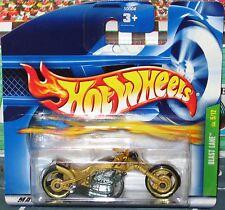 """Hot Wheels Treasure Hunt 2001 """"Blast Lane"""" Motorrad Super Modell Real Rider MOC"""