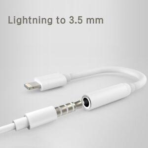 100% Genuine Lightning to 3.5mm Headphone Jack Adapter Apple iPhone X 7 8 XR XS