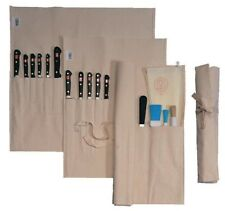 Vogue Chefs Canvas Knife Wallet Case Roll 14 Compartment (without Knives)