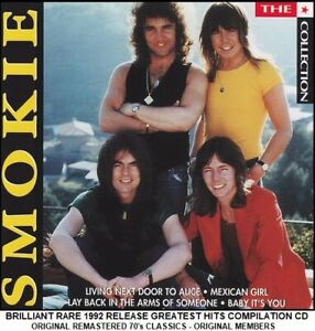 Smokie - Ultimate Essential Best Greatest Hits Collection RARE 1992 70's Pop CD