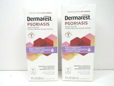 2 Dermarest Psoriasis Medicated Shampoo Conditioner Scalp Relief EXP 2/22 NEW