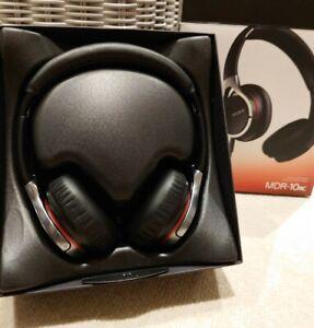 Sony MDR-10RC Overhead Lightweight Folding Headphones Black Hi-Res Audio