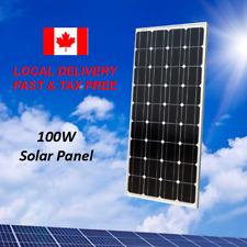 100W Watt 12V Volt Solar Panel Battery Charger RV Boat Camping Off Grid Home