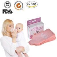 30Pcs Disposable Formula Pouch Dispenser Milk Powder Box Storage Bag Organizer