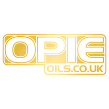 Opie huiles decal set - 2 x gold 6 pouces stickers
