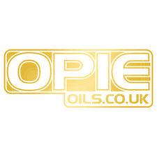 Opie aceites Decal Set - 2 Pegatinas de 6 Pulgadas x Gold
