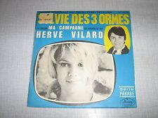 HERVE VILARD 45 TOURS FRANCE SYLVIE DES 3 ORMES
