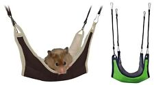 Hamster Hammock for Hamsters Gerbils Mice Degus & Small Rodents