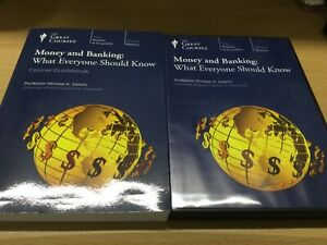 the great couses money and banking what everyone should know book and dvd