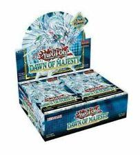 Yu-Gi-Oh! Dawn of Majesty 1st Edición Caja Sellada De Recuerdo Barcos 8/13/2021