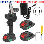 Garden Orchard Cordless Electric Chain Saw One‑Handed Mini Household Pruning