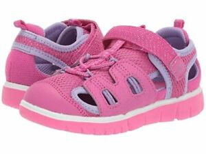 NIB STRIDE RITE Outerdoor Shoes Sandals River Pink 10 11 12 M