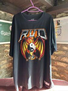 WWE WWF WCW ECW Rob Van Dam RVD T Shirt It's Good To Be Back Extra Large XL