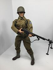 1/6 21ST CENTURY US 3RD INF DIV BAR GUNNER FULLY LOADED! WW2 DRAGON BBI DID
