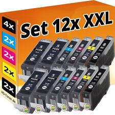 12 XL PATRONEN für CANON PIXMA MP500 MP510 MP520 MP530 MP610 MP810 MP830 IP5300