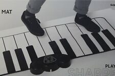 Giant Piano Mat 24 key floor keyboard w/ audio in smartphone input Sharper Image
