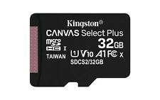 Kingston Class 10 32GB MicroSD Card with SD Adapter TF Samsung Android Nintendo