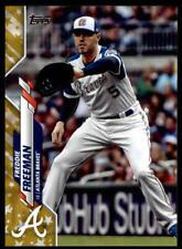 2020 Topps Baseball Factory Set Gold Star - Pick A Card - Cards 501-700